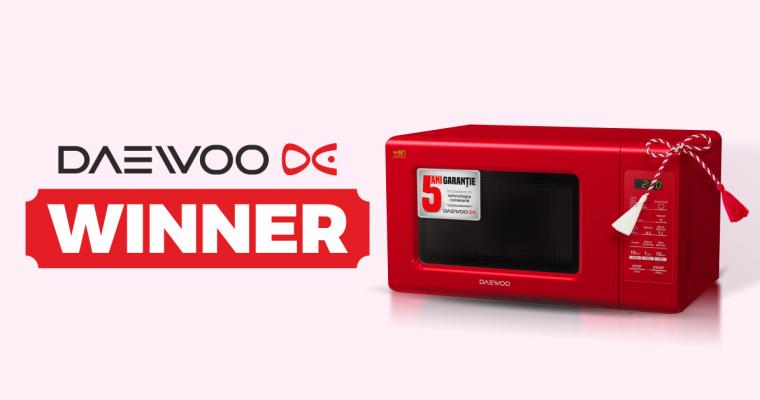Câştigător Concurs Daewoo 15 martie 2017