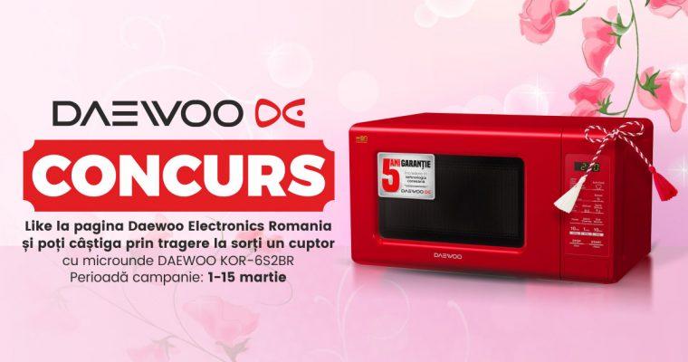 CONCURS Mărțișor Daewoo Electronics România