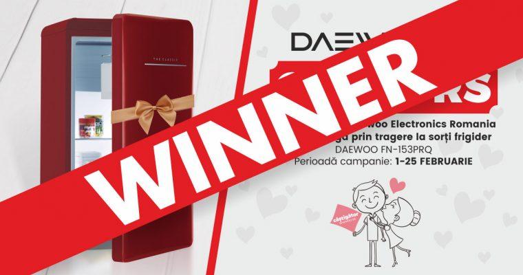 Câştigător Concurs Daewoo Frigider Retro