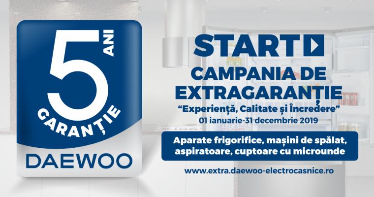 5 ani garanție Daewoo – Experiență, calitate, încredere
